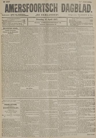 Amersfoortsch Dagblad / De Eemlander 1917-04-10