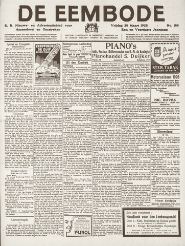 De Eembode 1928-03-30