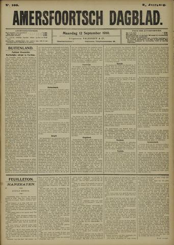 Amersfoortsch Dagblad 1910-09-12