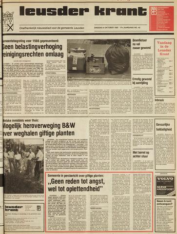 Leusder Krant 1985-10-08