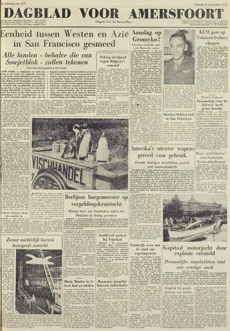 Dagblad voor Amersfoort 1951-09-08