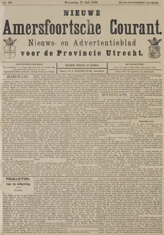 Nieuwe Amersfoortsche Courant 1898-07-27