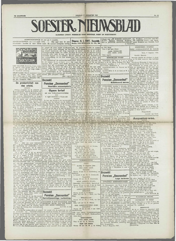 Soester Courant 1933-08-11