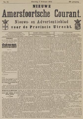 Nieuwe Amersfoortsche Courant 1914-02-07