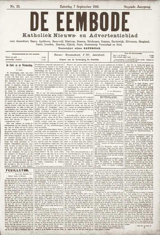 De Eembode 1895-09-07