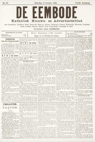 De Eembode 1890-10-11