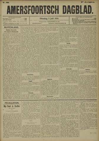 Amersfoortsch Dagblad 1910-07-05