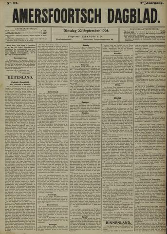 Amersfoortsch Dagblad 1908-09-22
