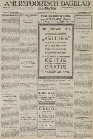 Amersfoortsch Dagblad / De Eemlander 1928-10-23