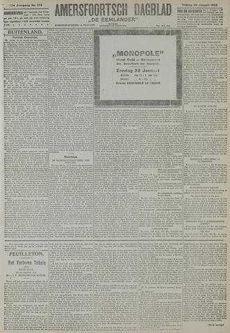 Amersfoortsch Dagblad / De Eemlander 1922-01-20