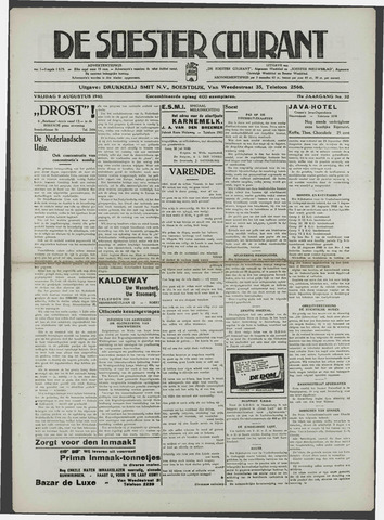 Soester Courant 1940-08-09