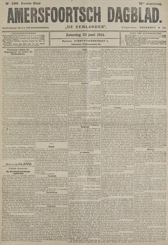 Amersfoortsch Dagblad / De Eemlander 1914-06-20