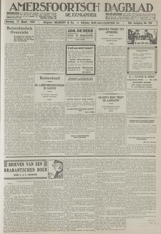 Amersfoortsch Dagblad / De Eemlander 1931-03-17