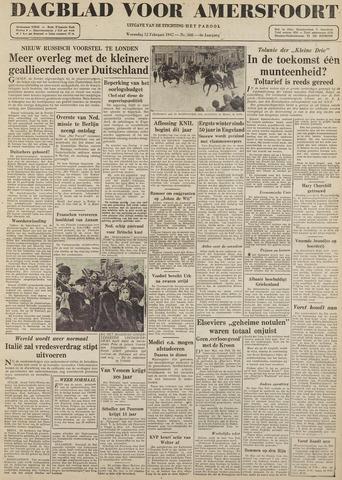 Dagblad voor Amersfoort 1947-02-12
