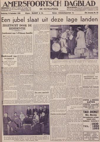 Amersfoortsch Dagblad / De Eemlander 1936-09-10