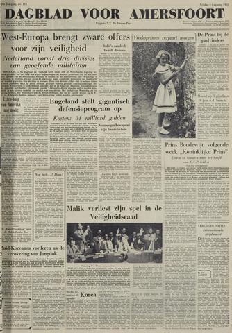 Dagblad voor Amersfoort 1950-08-04