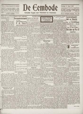 De Eembode 1933-03-21