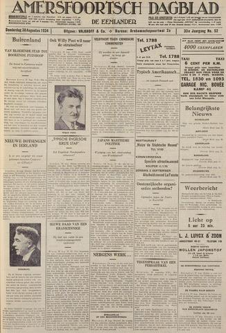 Amersfoortsch Dagblad / De Eemlander 1934-08-30