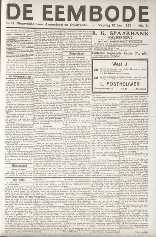 De Eembode 1923-01-12