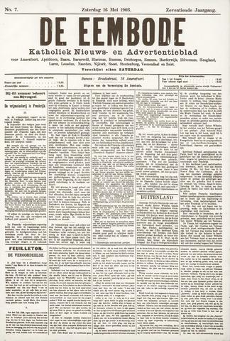 De Eembode 1903-05-16