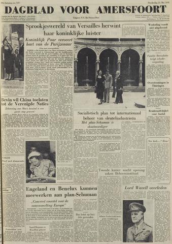 Dagblad voor Amersfoort 1950-05-25