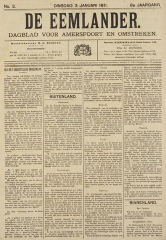 De Eemlander 1911-01-03