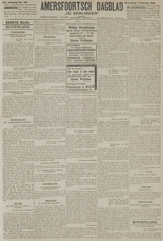 Amersfoortsch Dagblad / De Eemlander 1926-02-03