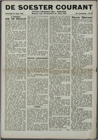 Soester Courant 1945-08-25
