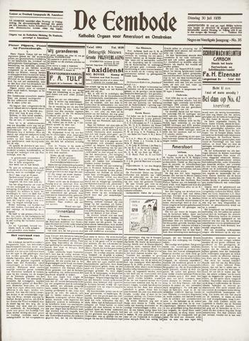 De Eembode 1935-07-30