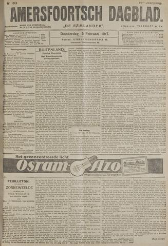 Amersfoortsch Dagblad / De Eemlander 1917-02-15