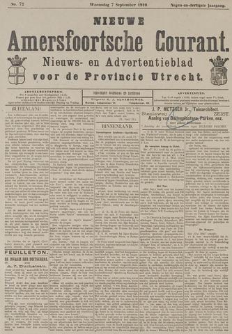 Nieuwe Amersfoortsche Courant 1910-09-07