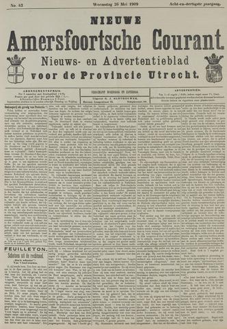 Nieuwe Amersfoortsche Courant 1909-05-26