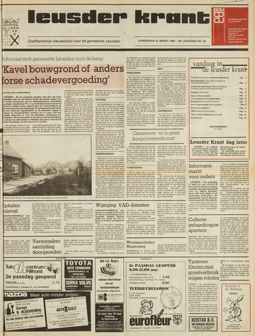 Leusder Krant 1988-03-31