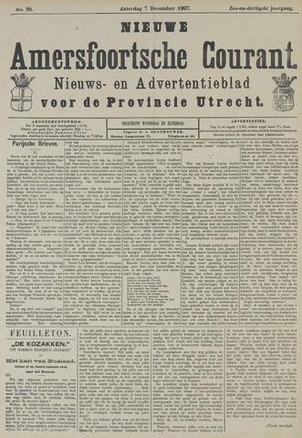 Nieuwe Amersfoortsche Courant 1907-12-07