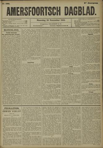 Amersfoortsch Dagblad 1910-11-28
