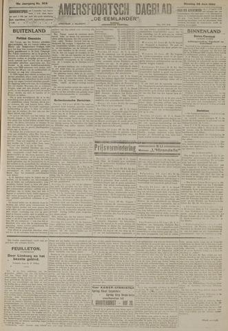 Amersfoortsch Dagblad / De Eemlander 1920-06-22