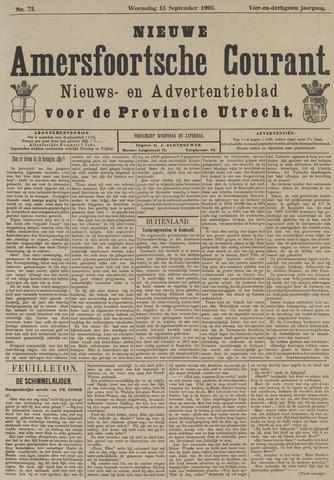 Nieuwe Amersfoortsche Courant 1905-09-13