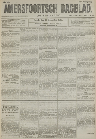 Amersfoortsch Dagblad / De Eemlander 1913-12-11