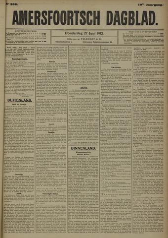Amersfoortsch Dagblad 1912-06-27