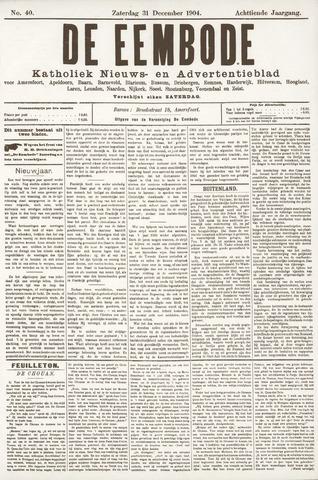 De Eembode 1904-12-31