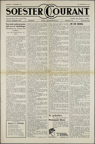 Soester Courant 1954-11-02