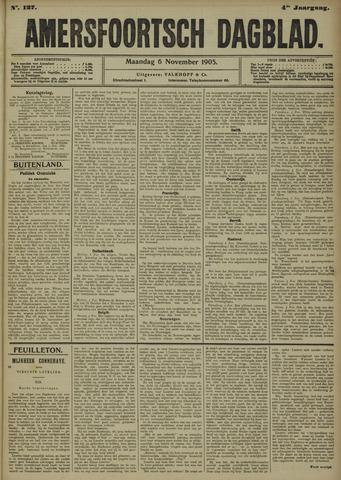 Amersfoortsch Dagblad 1905-11-06