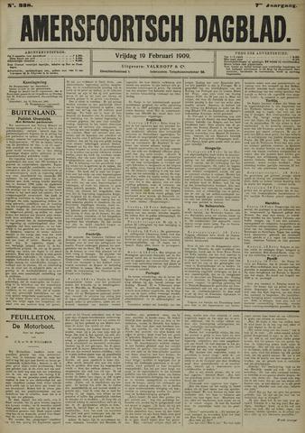 Amersfoortsch Dagblad 1909-02-19