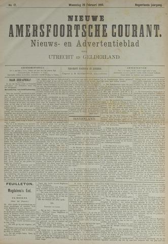 Nieuwe Amersfoortsche Courant 1890-02-26