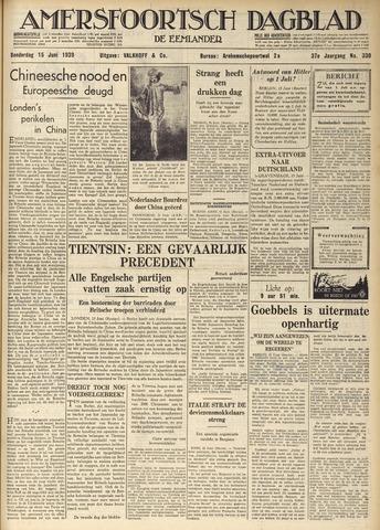 Amersfoortsch Dagblad / De Eemlander 1939-06-15