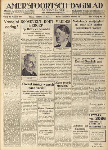 Amersfoortsch Dagblad / De Eemlander 1939-08-25