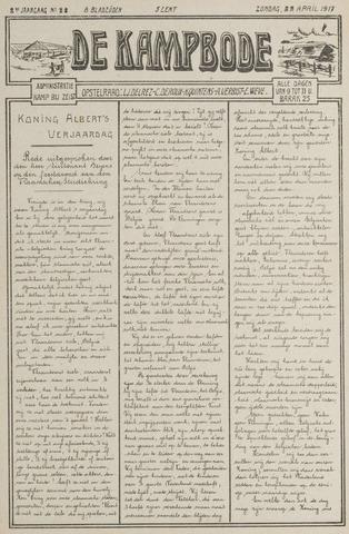 De Kampbode 1917-04-22