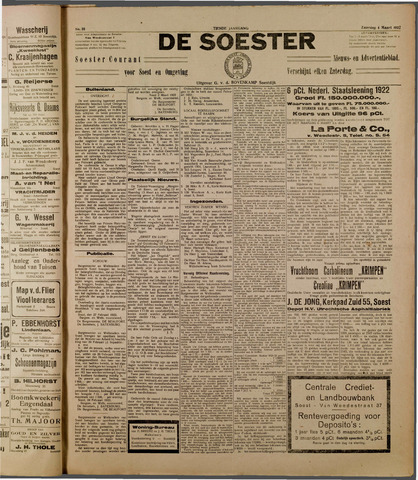 De Soester 1922-03-04