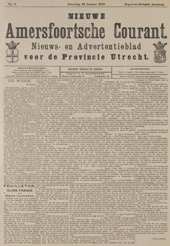 Nieuwe Amersfoortsche Courant 1910-01-29