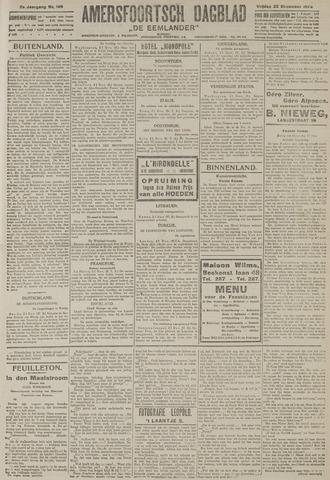 Amersfoortsch Dagblad / De Eemlander 1922-12-22